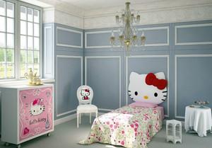 2016年新款三居室可爱卡通充满童趣儿童房装修效果图