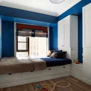 地中海风格自然舒适90平米大户男生儿童房装修效果图
