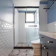 6平米时尚创意简约风格卫生间装修效果图