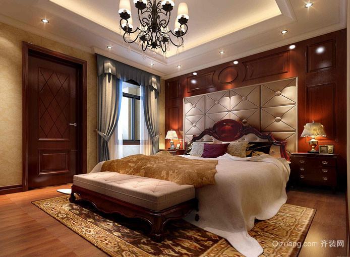 古典欧式风格大户型精致典雅室内卧室装修效果图