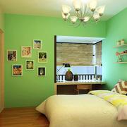 动感绿色儿童房装修效果图