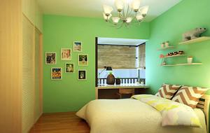 三居室现代简约风格创意儿童房装修效果图大全