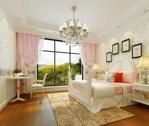 80平米欧式风格温馨舒适室内儿童房装修效果图