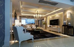 欧式客厅精美吊灯设计