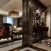 中式风格玄关装修效果图