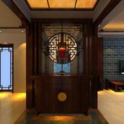 中式精致玄关设计