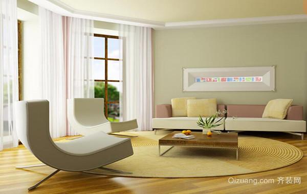 2016别墅欧式客厅电视背景墙装修效果图