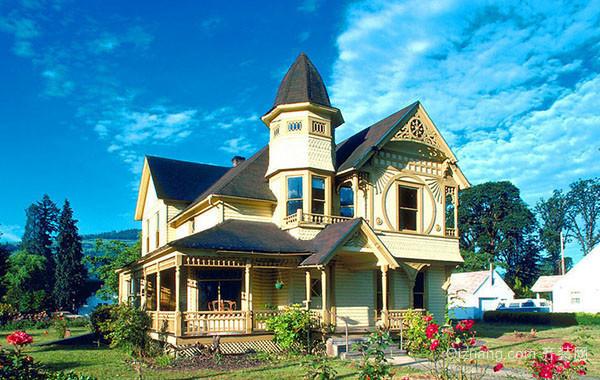 欧式风格农村自建别墅整体装修效果图赏析