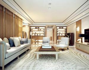 2016大户型客厅室内吊顶设计装修效果图欣赏