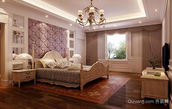 2016别墅欧式卧室设计装修效果图欣赏