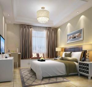 2016欧式风格卧室吊顶设计装修效果图欣赏