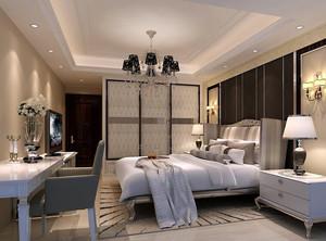 经典的别墅型欧式小卧室吊顶装修效果图