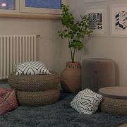 北欧风格客厅沙发设计