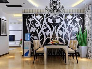 2016大户型欧式餐厅吊顶设计装修效果图欣赏