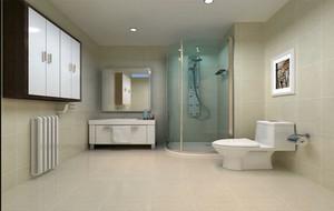 8平米现代简约风格时尚创意卫生间设计装修效果图
