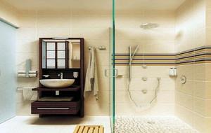 6平米简约风格精致室内卫生间装修效果图实例