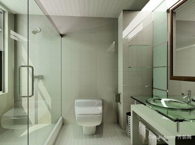 大户型简约时尚室内卫生间整体设计装修效果图