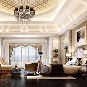 2016欧式精致大户型卧室设计装修效果图欣赏