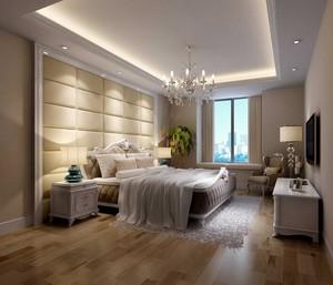90平米欧式卧室吊顶室内设计装修效果图