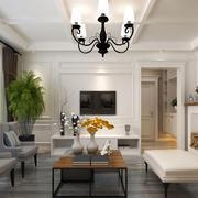 客厅精美吊顶灯装修效果图