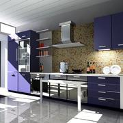 精致的大户型欧式厨房装修效果图欣赏