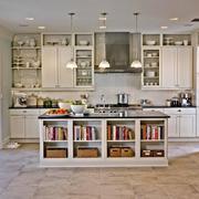 120平米欧式厨房橱柜室内设计装修效果图
