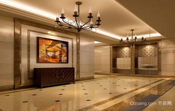 欧式风格别墅精致典雅高贵门厅玄关装修效果图大全