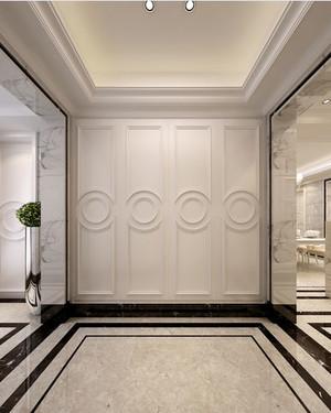欧式风格大户型简约进门玄关装修效果图