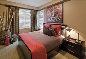 东南亚风格精致大户型室内卧室装修效果图