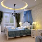 精致卧室吊顶装修效果图