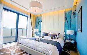 120平米地中海风格精致自然简约卧室装修效果图大全