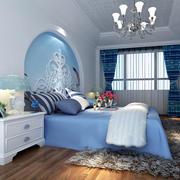 地中海风格卧室背景墙装修