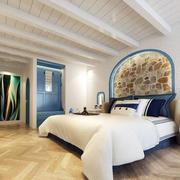 地中海风格卧室吊顶装修