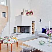 北欧风格客厅装修