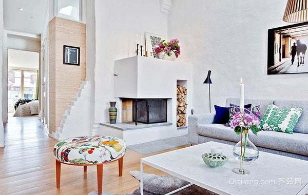 2016年现代北欧风格大户型公寓装修效果图赏析