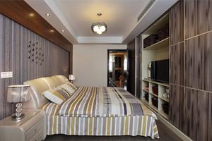 2016年现代美式风格精致室内卧室装修效果图