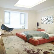 2016时尚的别墅卧室室内装修效果图欣赏