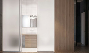 120平米简约时尚创意温馨室内公寓装修效果图赏析