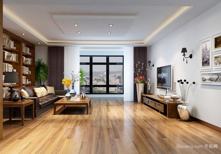 经典的大户型欧式客厅装修效果图欣赏