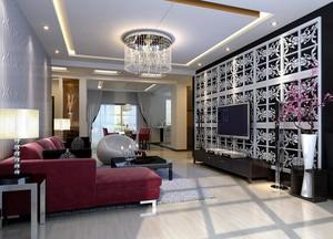 90平米欧式客厅室内吊顶设计装修效果图欣赏