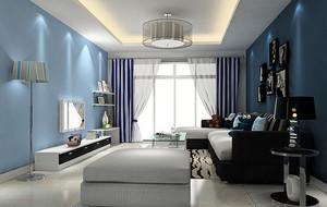 小户型现代简约风格时尚温馨客厅装修效果图大全