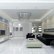 现代时尚简约客厅装修