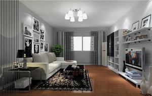 2016年小户型现代简约风格创意温馨客厅装修效果图