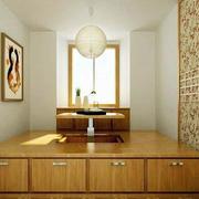 大户型新中式风格精致典雅室内榻榻米装修效果图
