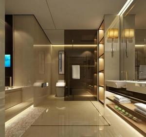 小户型欧式卫生间吊顶设计装修效果图实例