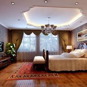 精美中式风格卧室装修