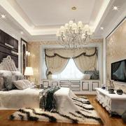 120平米简欧风格卧室装修