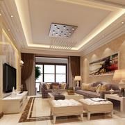 精致客厅吊灯设计