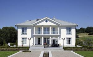 现代欧式风格自建别墅设计装修效果图赏析