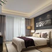 小户型经典现代卧室设计装修效果图实例